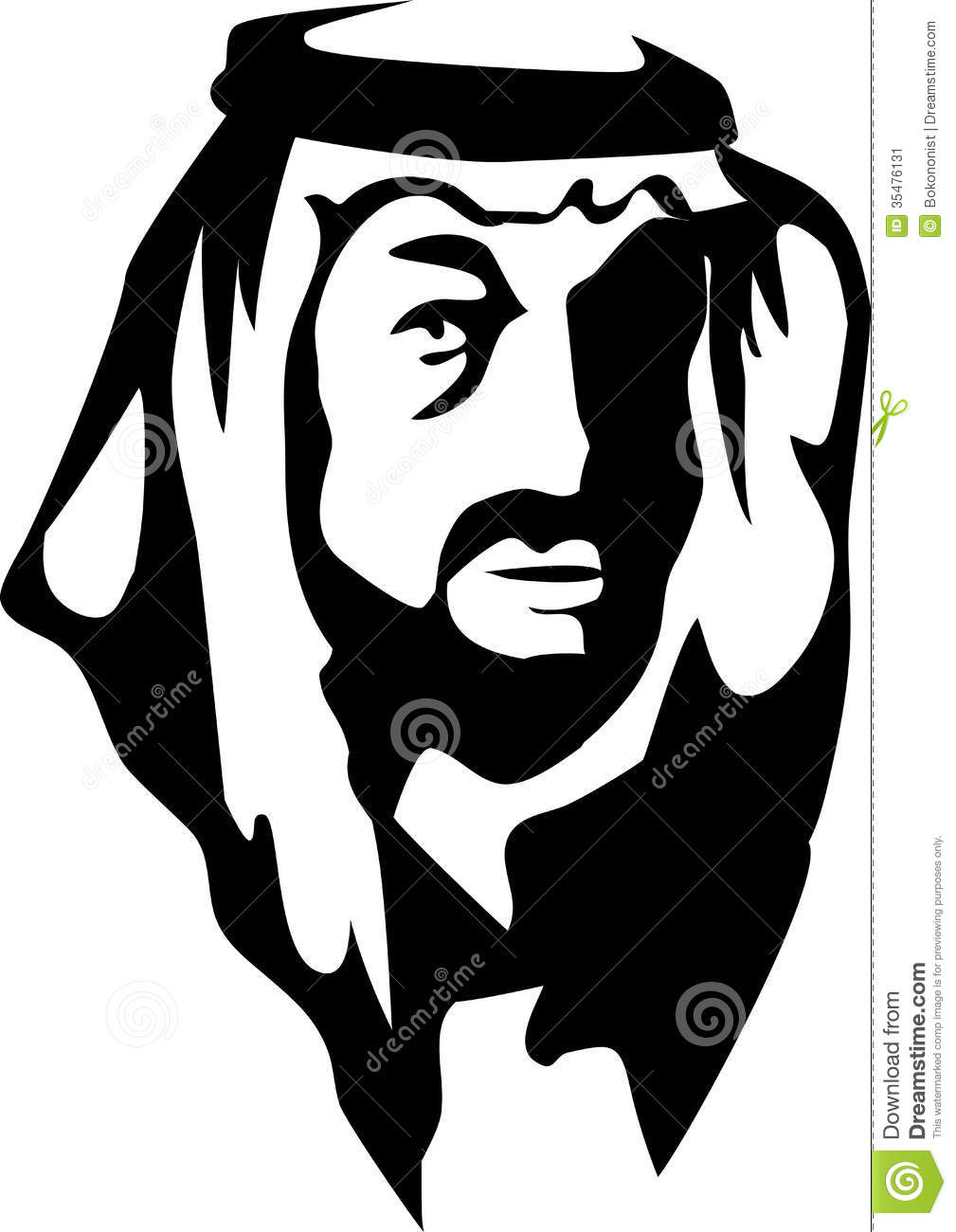 Face for arabic man clipart banner royalty free download Arab Stock Image - Image: 35476131 banner royalty free download