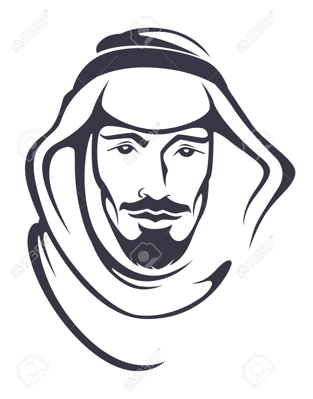 Face for arabic man clipart jpg transparent download 4,345 Arab Man Stock Vector Illustration And Royalty Free Arab Man ... jpg transparent download