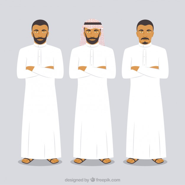 Arab Man Vectors, Photos and PSD files | Free Download clipart freeuse stock