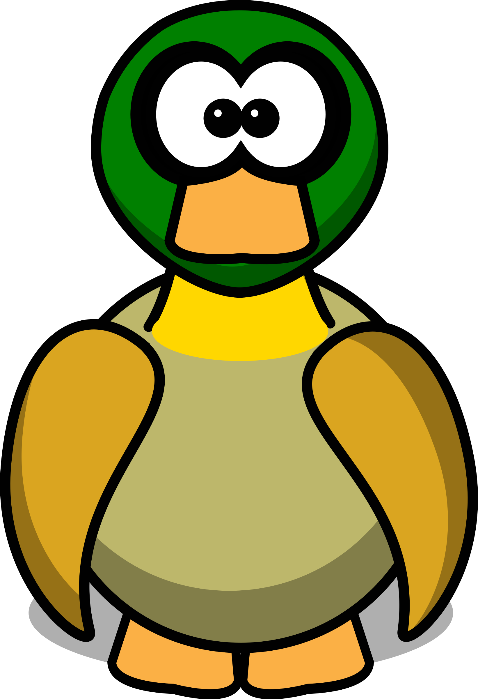 Money character clipart png transparent Clipart - Cartoon Duck png transparent
