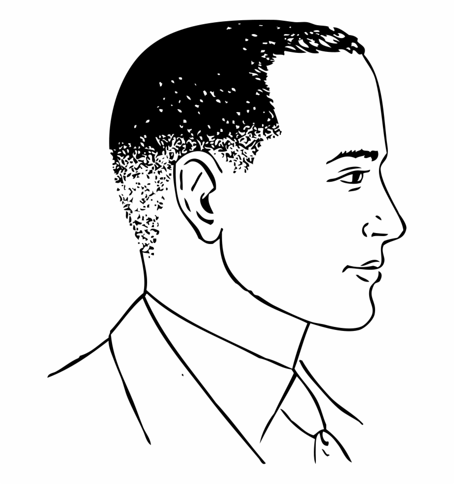 Face of a man side view clipart picture black and white library Close Haircut Png - Man Side View Clipart - haircut png, Free PNG ... picture black and white library