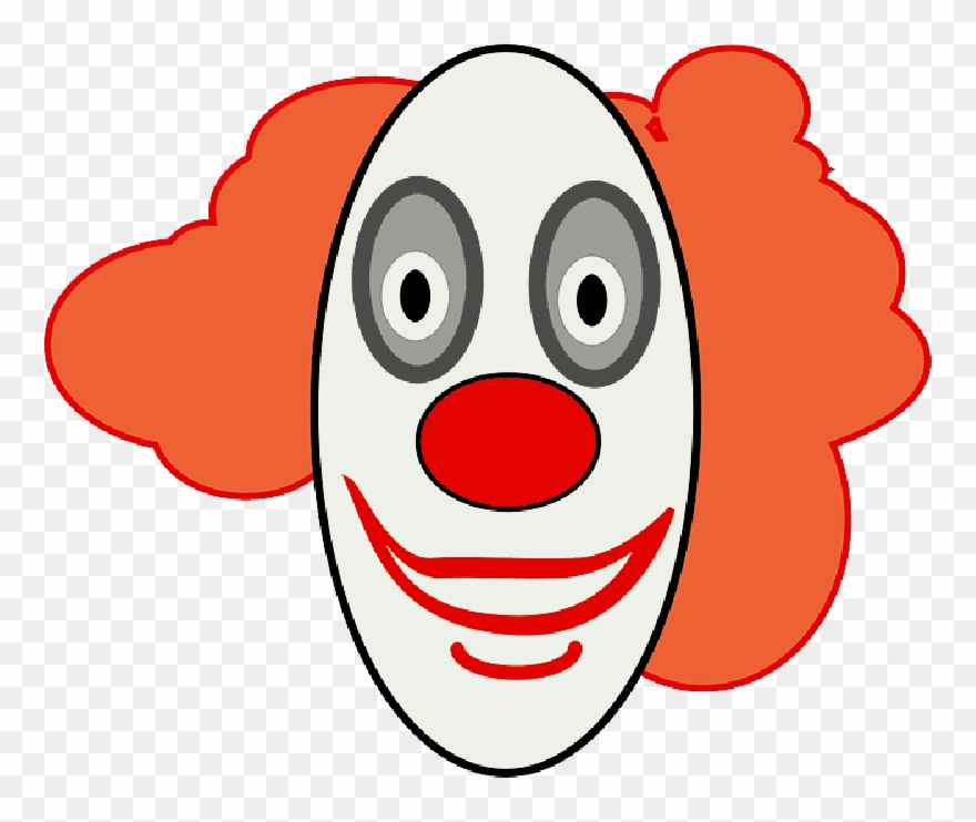 Face outline clipart no background graphic library library Outline, Drawing, Happy, Clown, Faces, Face, Cartoon - Clown Face ... graphic library library