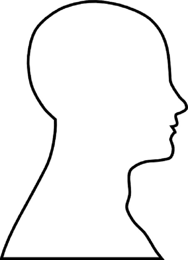 Face outline clipart no background picture freeuse Human head Face Brain Clip art - Female Outline png download - 600 ... picture freeuse