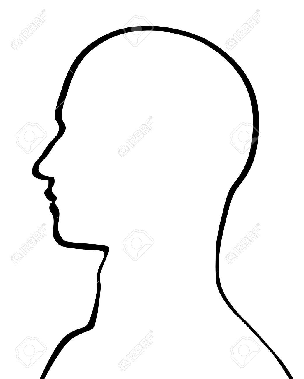 Stock Vector | art | Human head, Drawing the human head, Drawing ... svg freeuse library