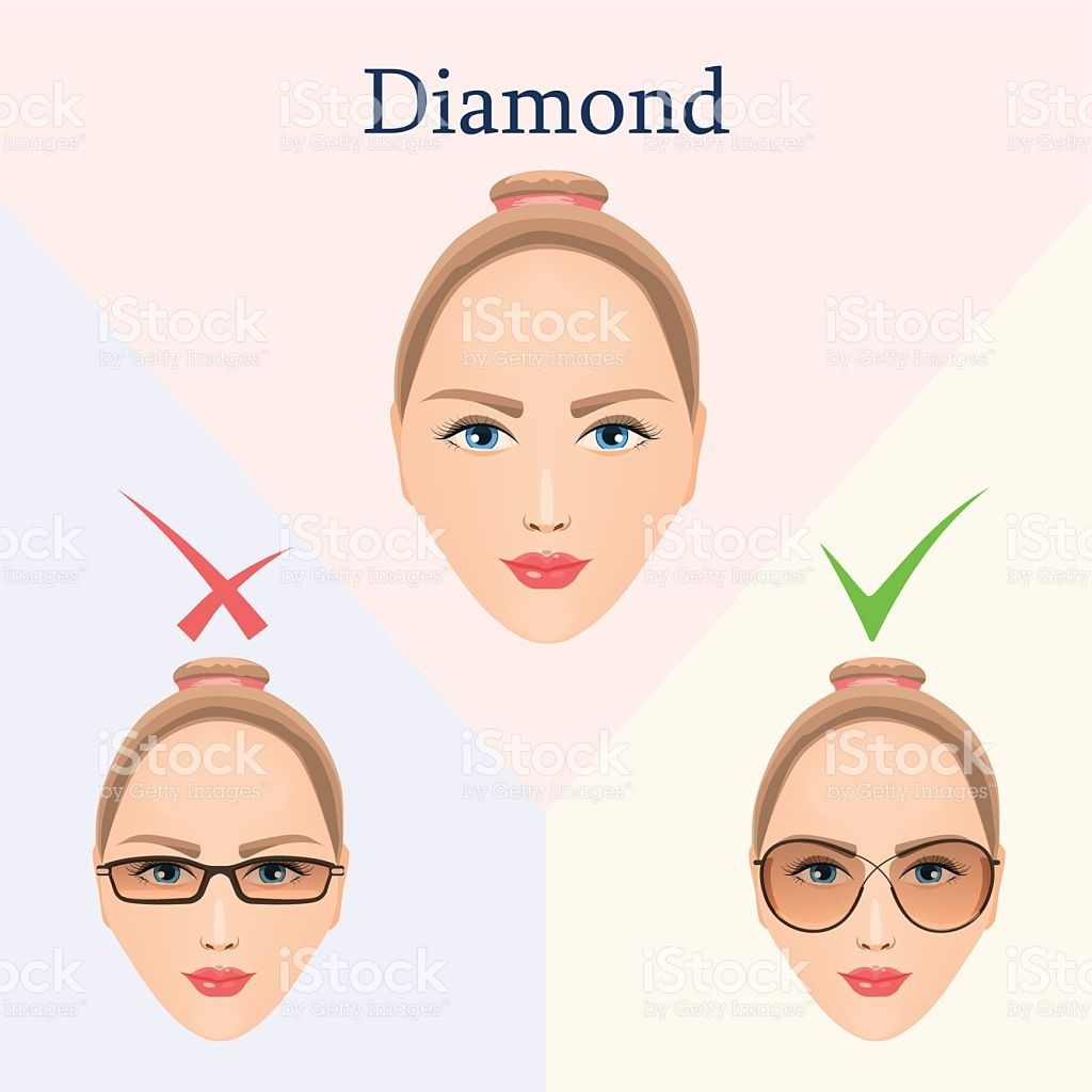 Face shape clipart vector black and white library Image result for glasses for diamond face shape | The closet ... vector black and white library