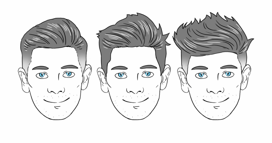Face shape clipart clipart free Oval Face Shape Men , Png Download - Oval Shape Face Haircut Male ... clipart free