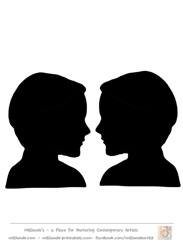 Face to face clipart graphic stock Free Face Silhouette, Download Free Clip Art, Free Clip Art on ... graphic stock