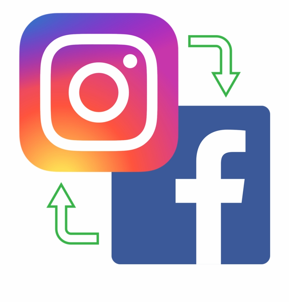 Facebook and instagram icon clipart picture freeuse Instagram Facebook Icons - Top 10 Facebook Facts Free PNG Images ... picture freeuse