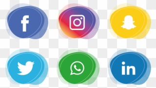 Free social media icons vector clipart