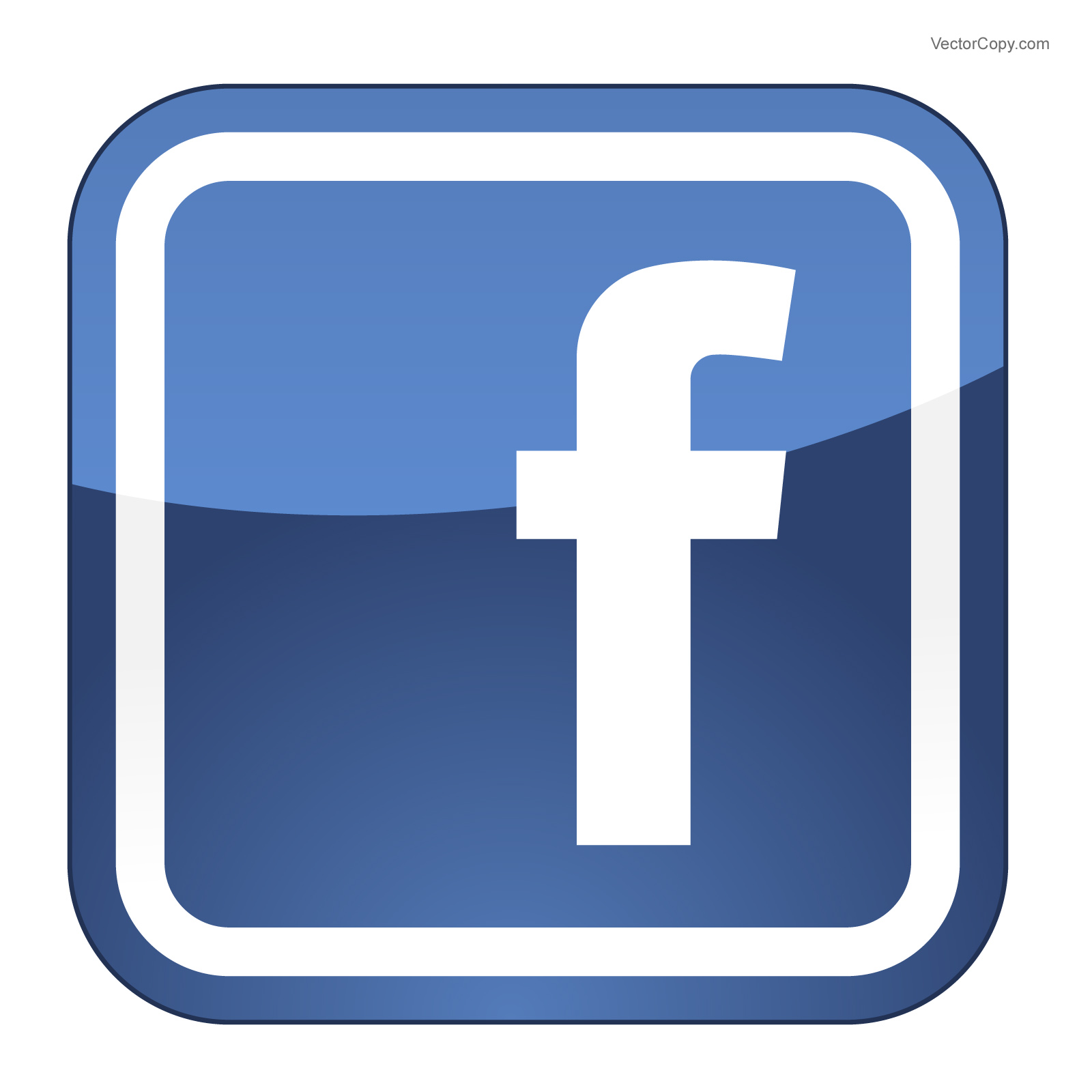 Logo de fb clipart svg royalty free Facebook twitter icon clipart clipart kid 3 - Clipartix svg royalty free