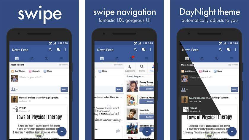 Facebook app clip royalty free 10 best Facebook apps for Android - Android Authority clip royalty free