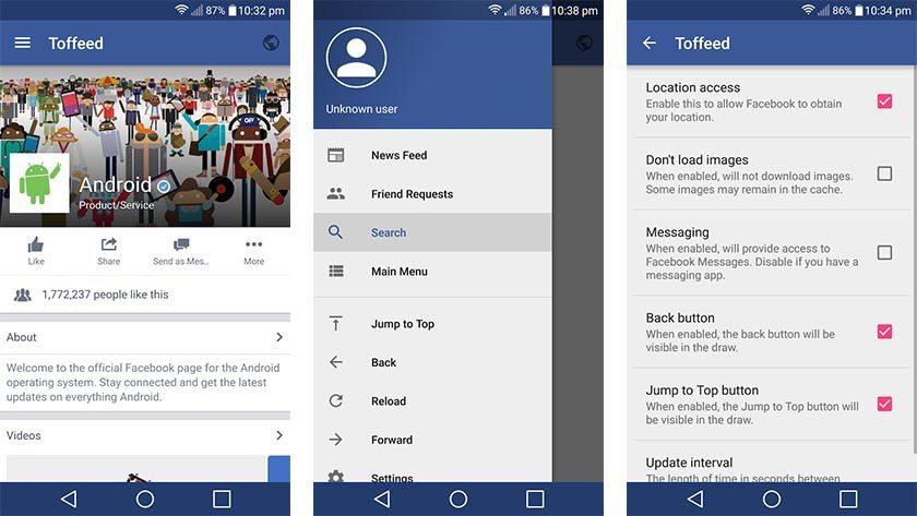Facebook app jpg freeuse download 10 best Facebook apps for Android - Android Authority jpg freeuse download