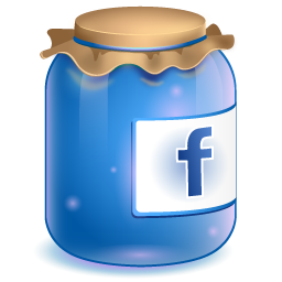 Facebook blue clipart jpg black and white download Blue Facebook Jar Icon, PNG ClipArt Image | IconBug.com jpg black and white download