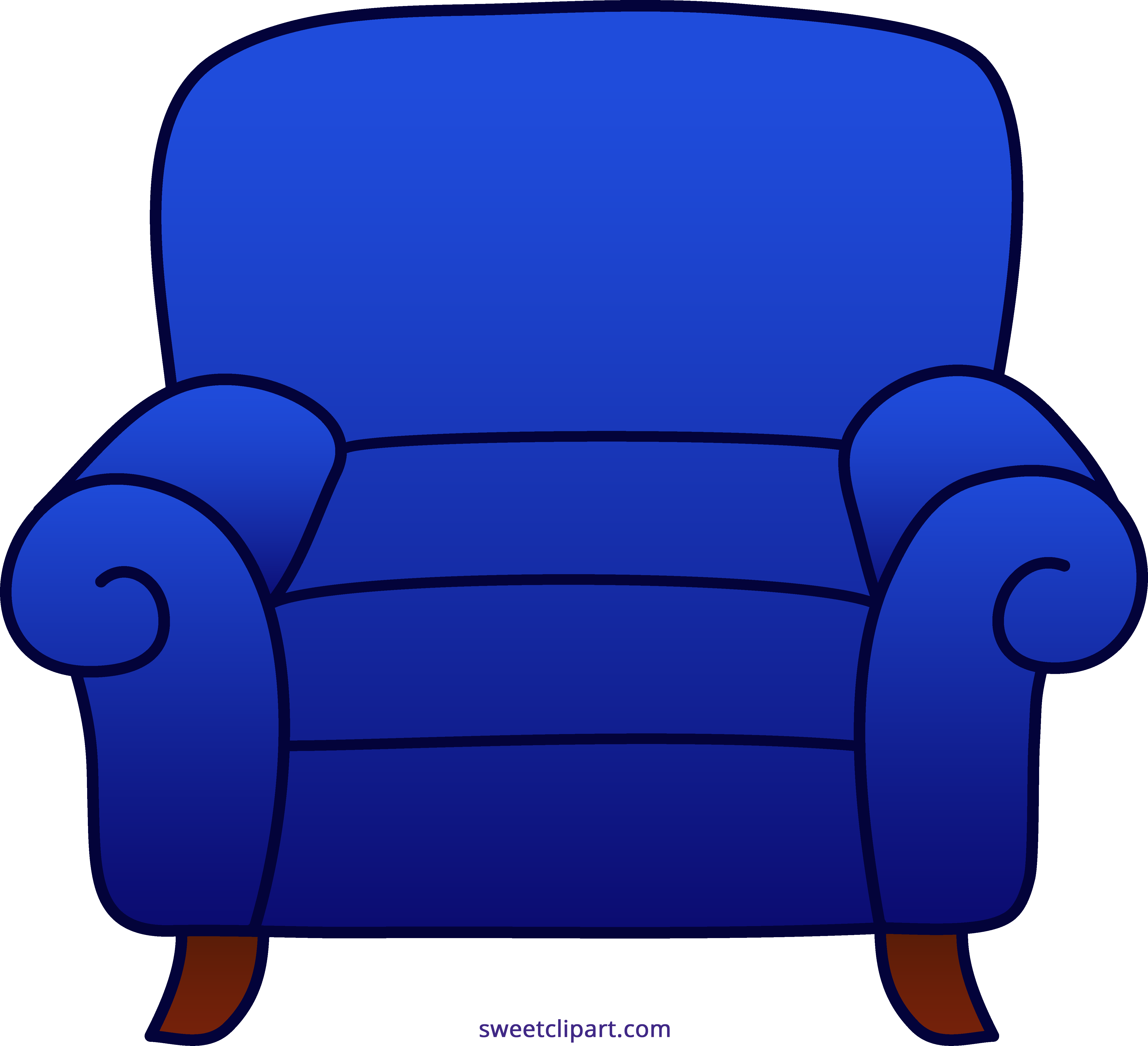Facebook blue clipart banner freeuse stock Armchair Blue Clipart - Sweet Clip Art banner freeuse stock