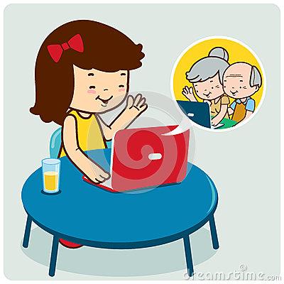 Facebook chat clip art svg free stock Facebook clip art in chatting - ClipartFox svg free stock