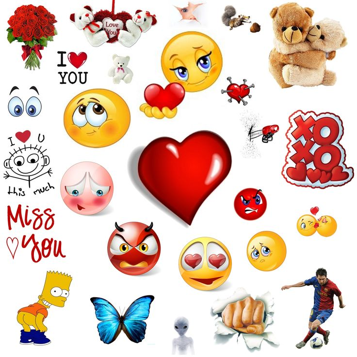 Facebook clip art in chatting