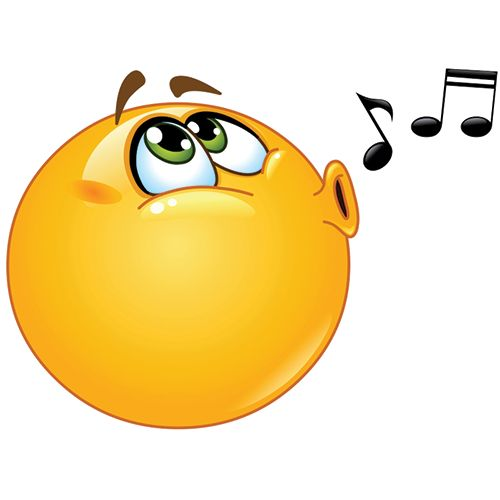 Whistling Smiley | Smileys, Facebook and Emoticon clip royalty free library