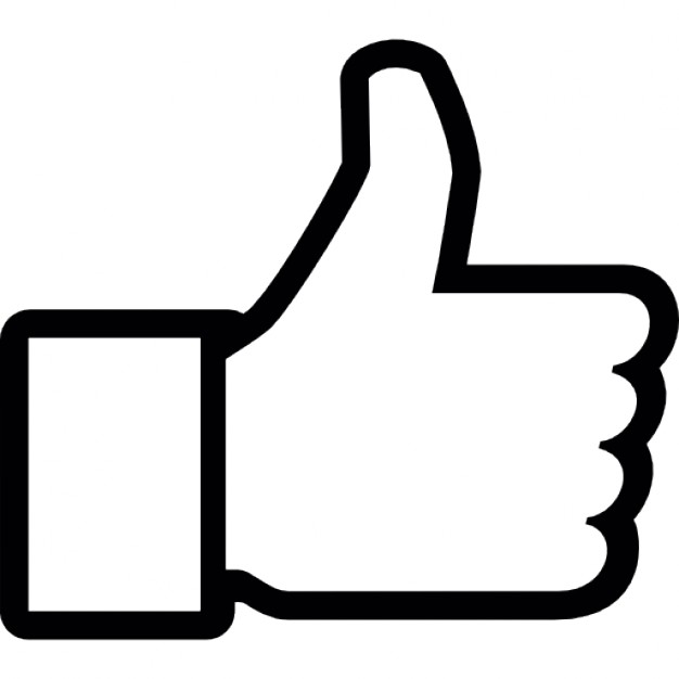Facebook clipart black image free stock Black And White Like Us On Facebook Clipart - Clipart Kid image free stock