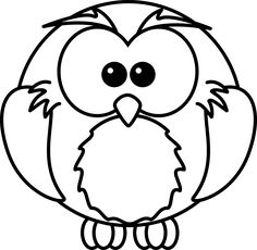 Facebook clipart black and white image freeuse black and white Whimsical Owl Clip Art | Cart Cart Lightbox ... image freeuse