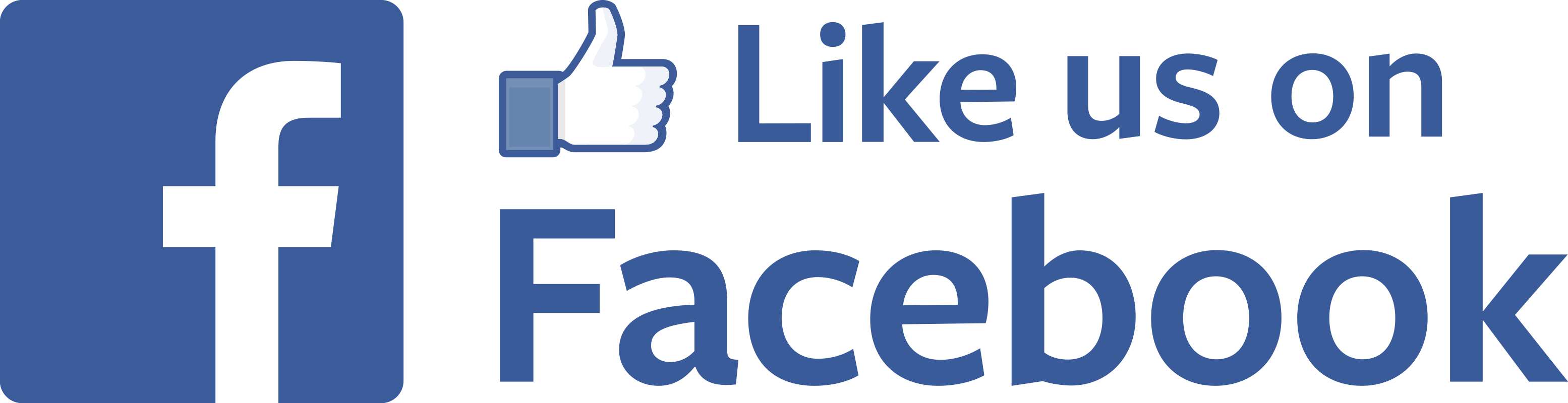 Facebook clipart like picture free Like Us on Facebook With Thumb Up transparent PNG - StickPNG picture free