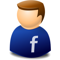 Social Person Facebook Icon, PNG ClipArt Image | IconBug.com jpg library stock