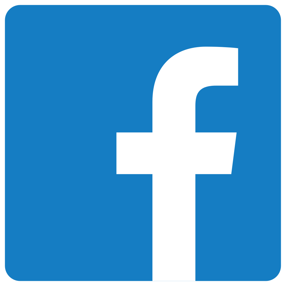 Facebook Logos PNG images free download svg library stock