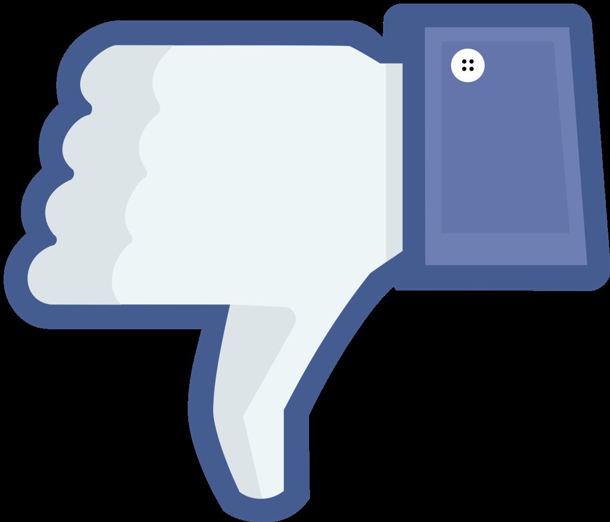 Facebook clipart size clip art freeuse Facebook Thumbs Down Clipart - Clipart Kid clip art freeuse