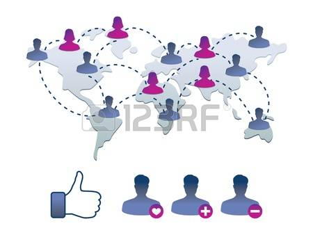 Facebook clipart vector graphic black and white stock 972 Facebook Cliparts, Stock Vector And Royalty Free Facebook ... graphic black and white stock