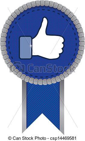 Facebook clipart vector jpg freeuse download Like facebook Vector Clipart EPS Images. 415 Like facebook clip ... jpg freeuse download