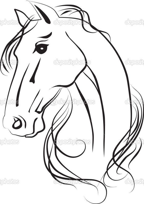 Horse Line Drawings Clip Art | Cart Cart Lightbox Lightbox Share ... jpg transparent stock