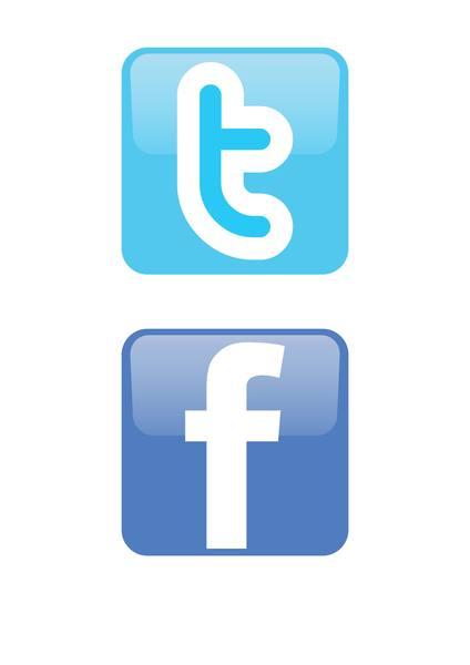 Facebook cliparts download clip art royalty free stock Facebook Twitter Icon Clipart - Clipart Kid clip art royalty free stock