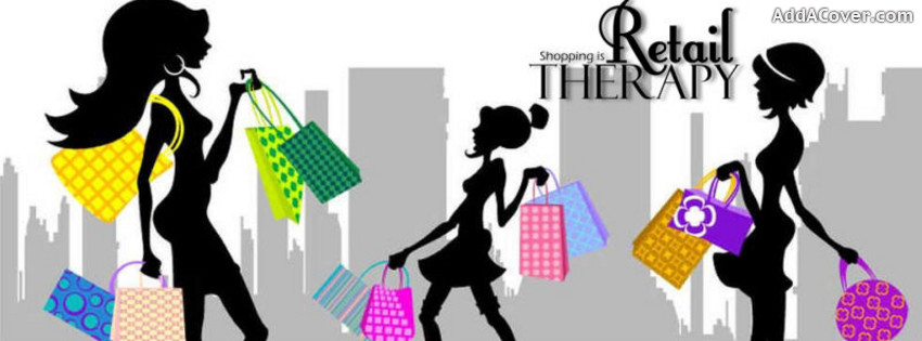 Facebook cover clipart banner freeuse Retail Therapy Facebook Cover | Clipart Panda - Free Clipart Images banner freeuse