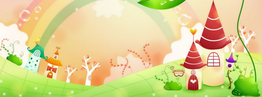 Facebook cover clipart