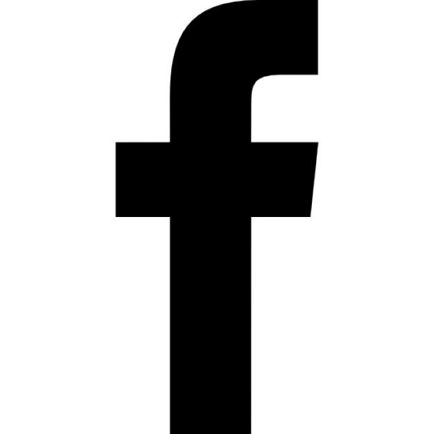 Facebook f logo clipart