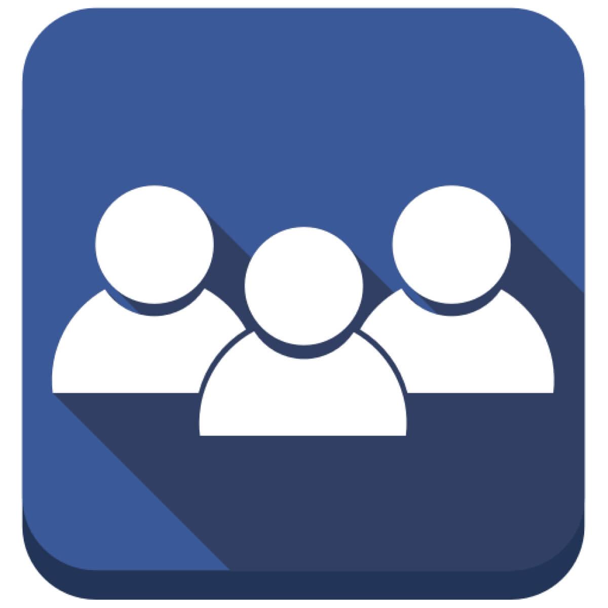 Facebook group logo clipart clip art transparent stock Connect a Facebook group   StreamYard clip art transparent stock
