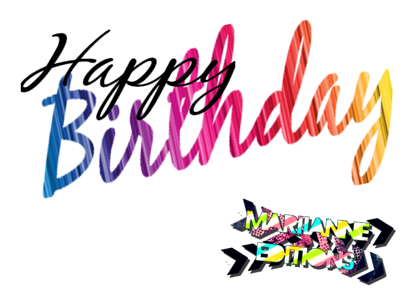 Facebook happy birthday clipart picture transparent download Happy Birthday text. by MariianneEditions on DeviantArt picture transparent download