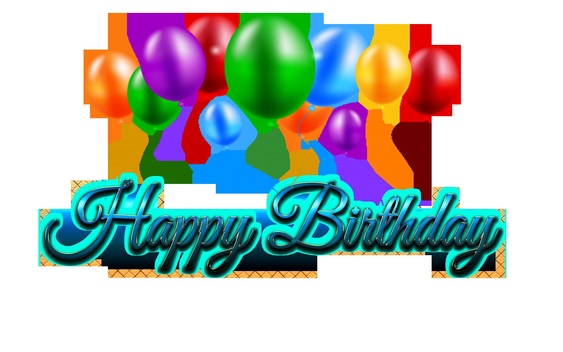 Facebook happy birthday clipart clipart transparent Balloon Desktop Wallpaper Clip art - happy birthday 1920*1200 ... clipart transparent
