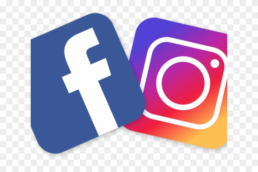Instagram live clipart image library library Facebook Clipart Facebook Instagram - Facebook And Instagram Png ... image library library