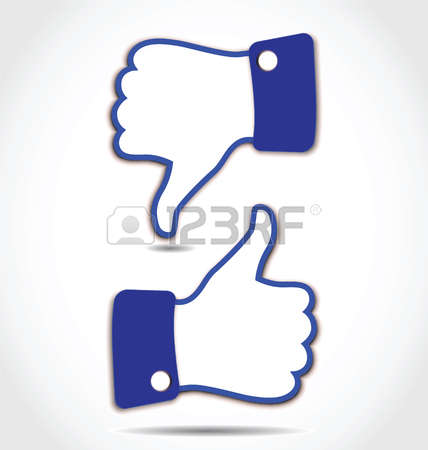 Facebook like button clipart svg black and white stock 175 Facebook Like Button Stock Vector Illustration And Royalty ... svg black and white stock