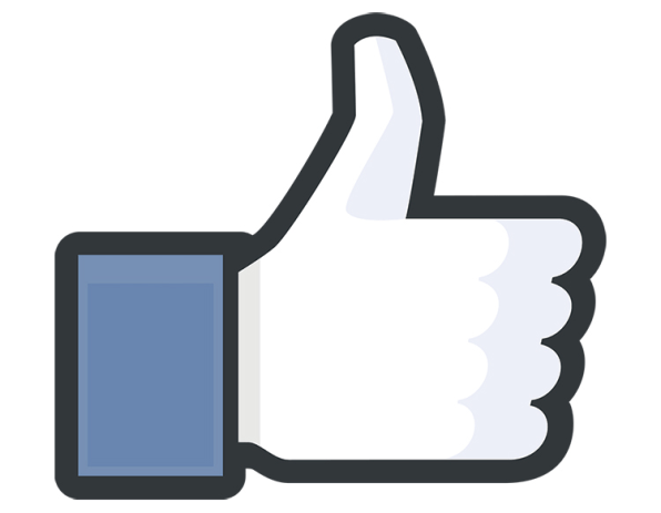Facebook like button clipart picture transparent library Why Facebook's New Like Button Ditches The Thumbs Up picture transparent library