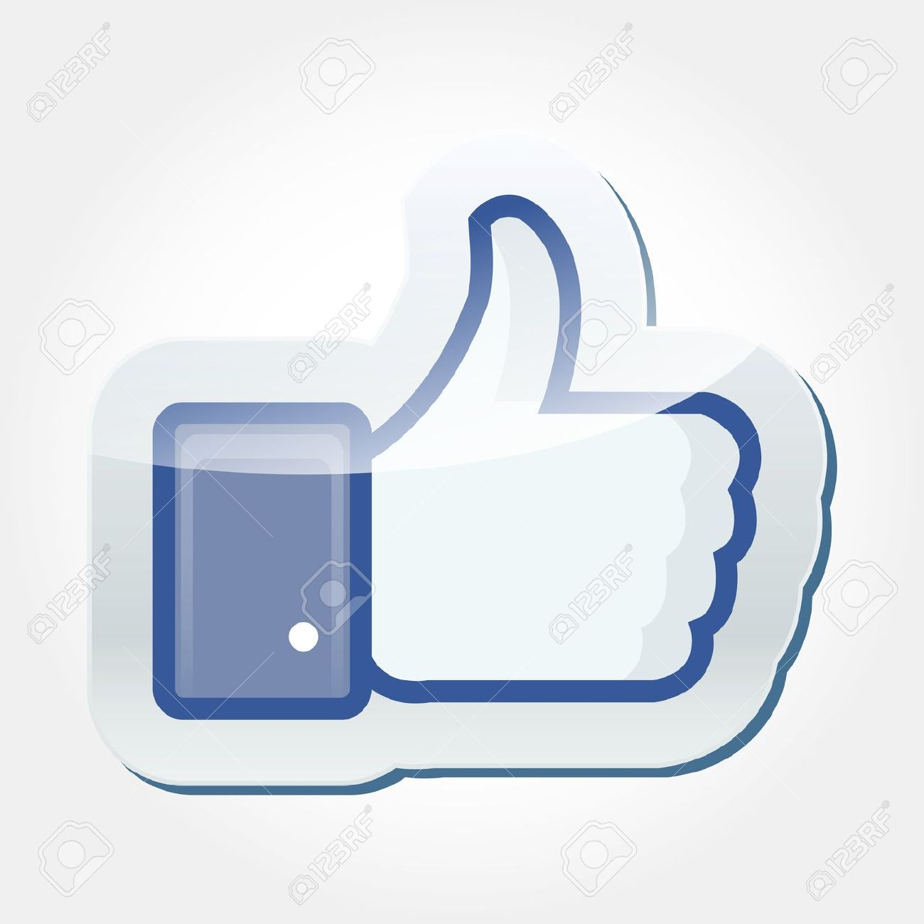 Facebook like button clipart banner download Facebook Like Button Stock Photo, Picture And Royalty Free Image ... banner download