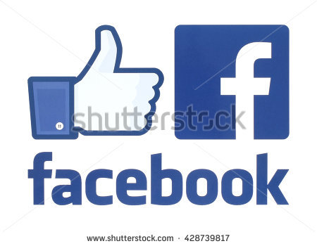 Facebook like button clipart vector black and white stock Facebook Like Button Stock Images, Royalty-Free Images & Vectors ... vector black and white stock