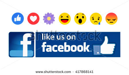 Facebook like button clipart banner black and white download Facebook Like Button Stock Images, Royalty-Free Images & Vectors ... banner black and white download