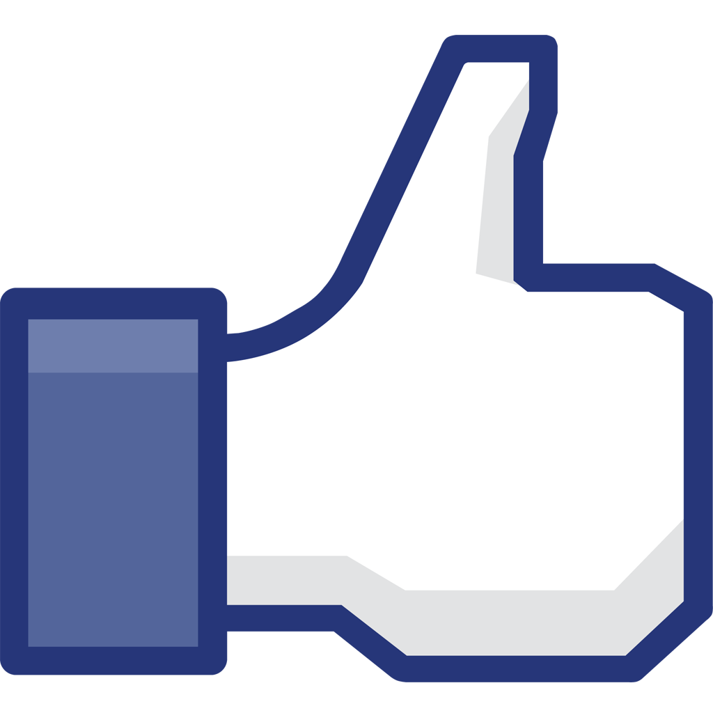 Facebook like clip art image transparent stock Facebook clipart file - ClipartFest image transparent stock