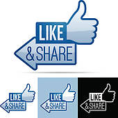 Like Facebook Like And Recommend Clipart - Clipart Kid clipart free