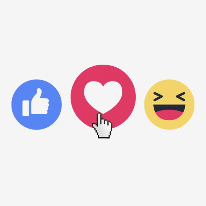 Facebook like love clipart image black and white download Advertisers Don\'t Like Facebook\'s Reactions. They Love Them | WIRED image black and white download