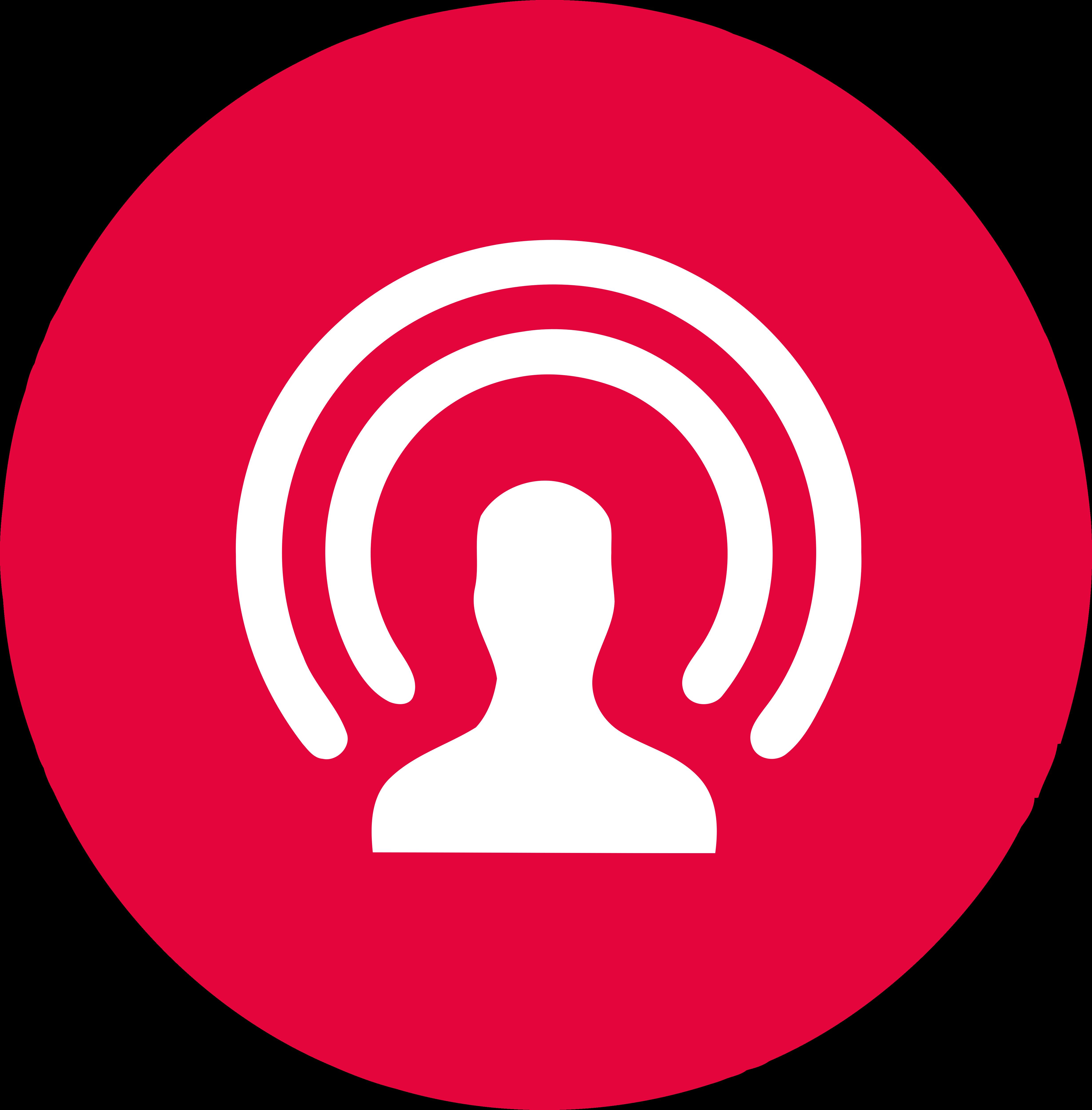 Facebook live logo clipart