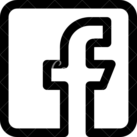 Facebook logo black and white clipart picture royalty free stock Facebook Logo - Icons by Canva picture royalty free stock
