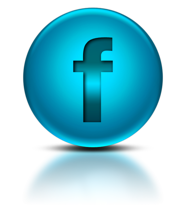 Facebook logo clipart vector black and white download Blue Metallic Orb Icon Social Media Logos Facebook Logo vector black and white download