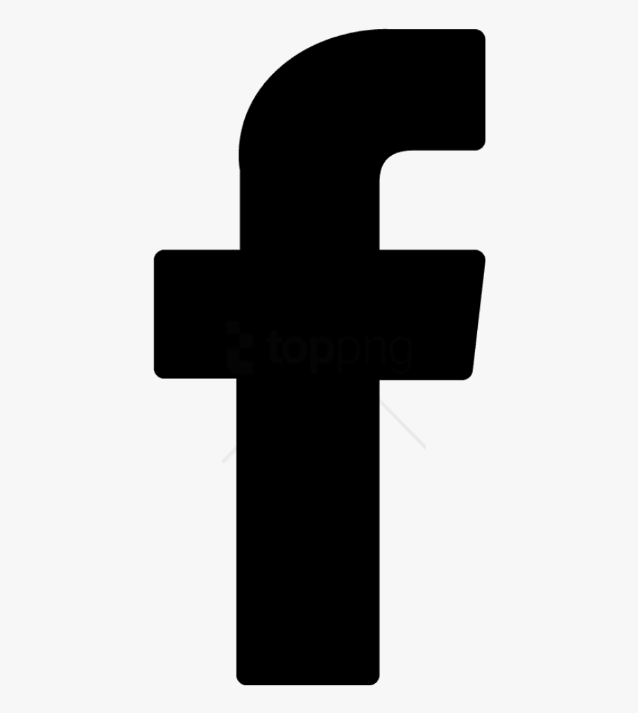 Facebook logo clipart black picture Facebook Logo Png Transparent Background Black - White Facebook Logo ... picture